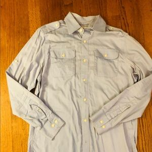 Cool banana republic shirt with tab shoulders